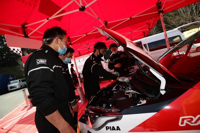 画像: ラリー開始早々に2台揃って姿を消すことになってしまったTOYOTA GAZOO Racing。