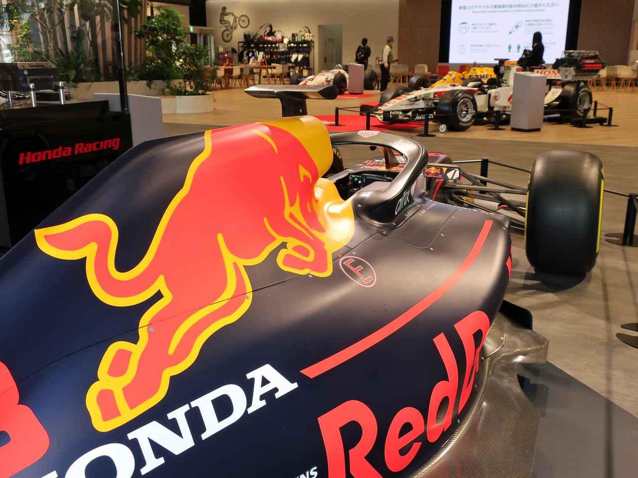 Images : 1番目の画像 - ホンダの歴代F1@ウエルカムプラザ青山 - Webモーターマガジン