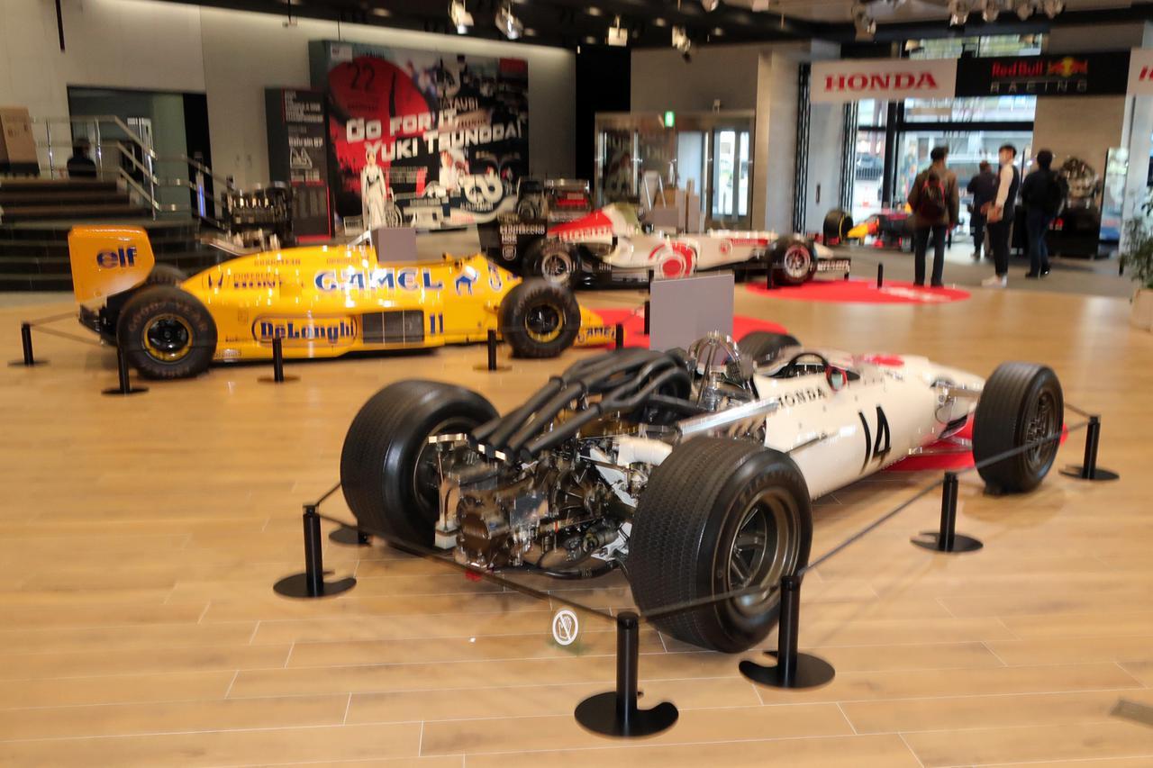 Images : 9番目の画像 - ホンダの歴代F1@ウエルカムプラザ青山 - Webモーターマガジン