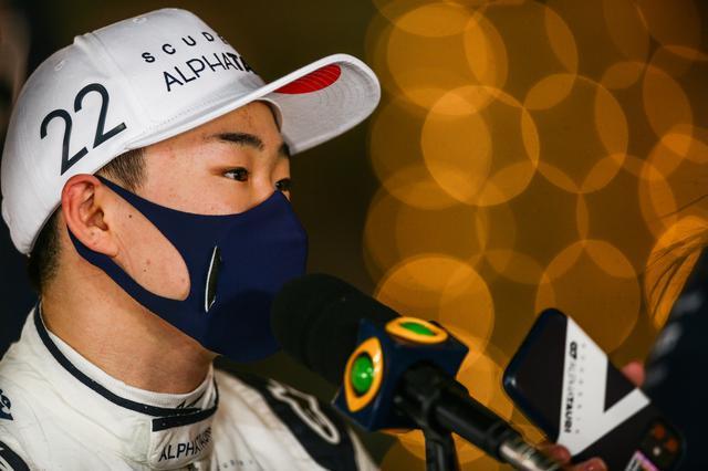 画像: 落ち着いたレース運びで9位入賞を果たした角田裕毅(アルファタウリ・ホンダ)。