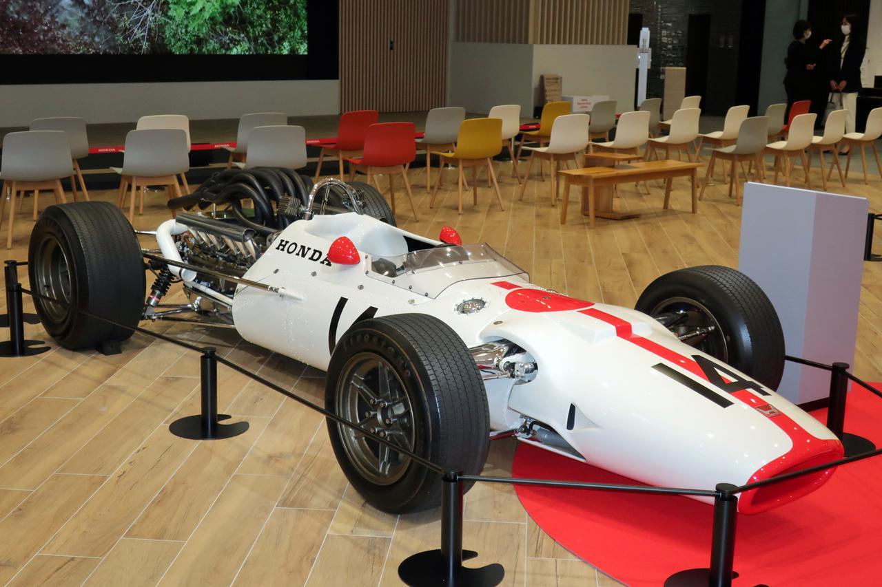 Images : 1番目の画像 - ホンダ歴代F1マシン写真蔵 - Webモーターマガジン