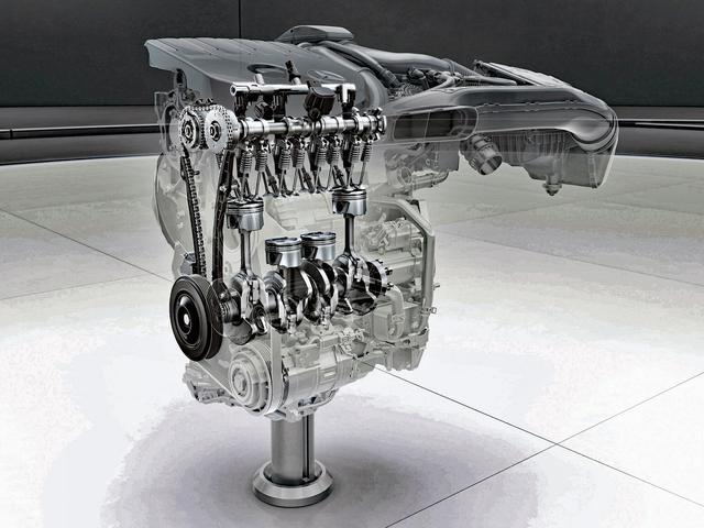 画像: 軽量・コンパクトなM282型エンジンの透視図。