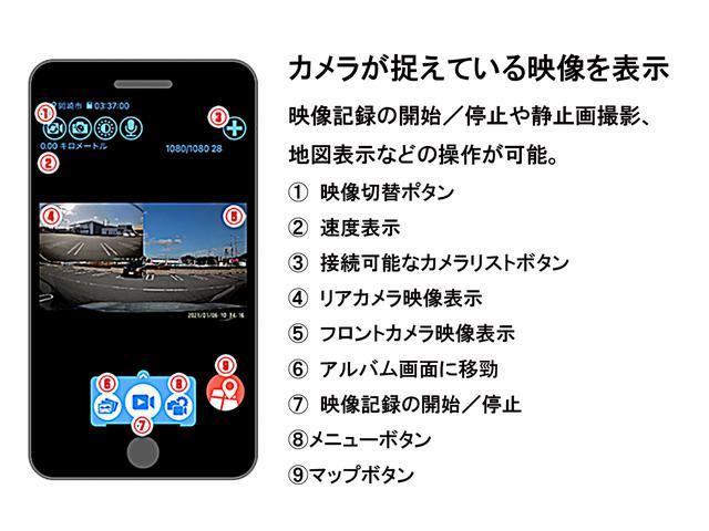 画像: 専用のアプリをスマートフォンやタブレットにダウンロードすると、その端末で多くの操作が可能になる。