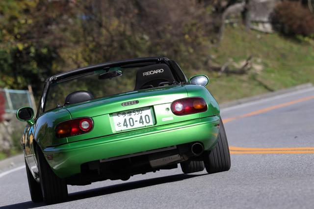画像: ニーレックスのリアエンドトラスバーもセット。車体後部のねじれ剛性を上げる役割があり、よりクルマとの一体感が増す。