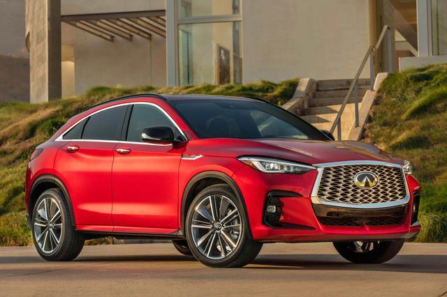 画像: 2022年モデルから北米で販売が開始されるインフィニティ「QX55」。