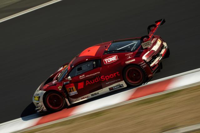 画像: 21号車Hitotsuyama Audi R8 LMS(川端伸太朗/篠原拓朗)予選13位、決勝13位