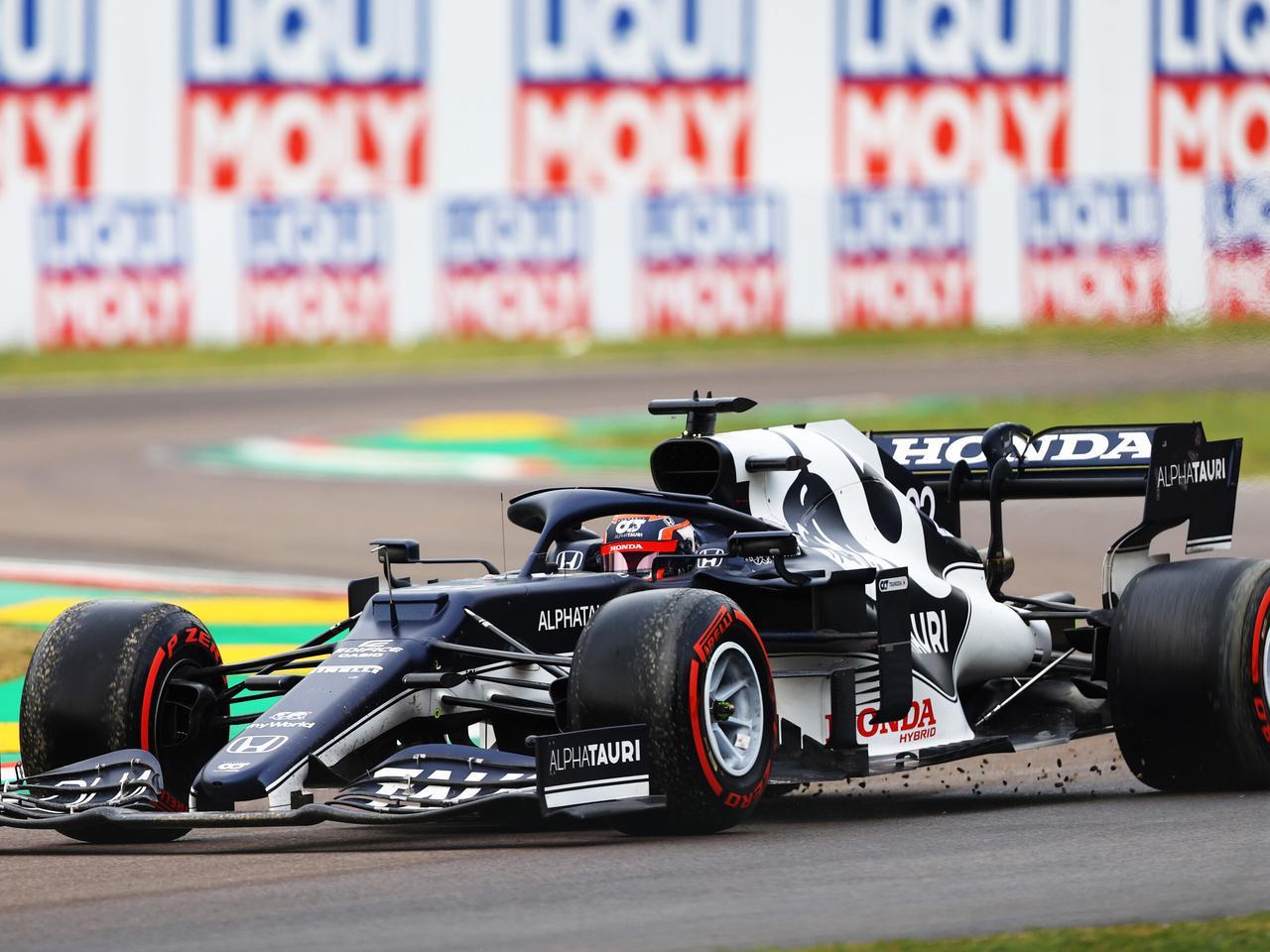 Images : 1番目の画像 - 2021年F1第2戦エミリア・ロマーニャGP決勝アルファタウリ・ホンダ - Webモーターマガジン