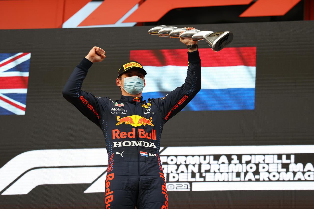 画像: 今季初優勝を飾ったマックス・フェルスタッペン(レッドブル・ホンダ)。狙いどおりのレースだった。