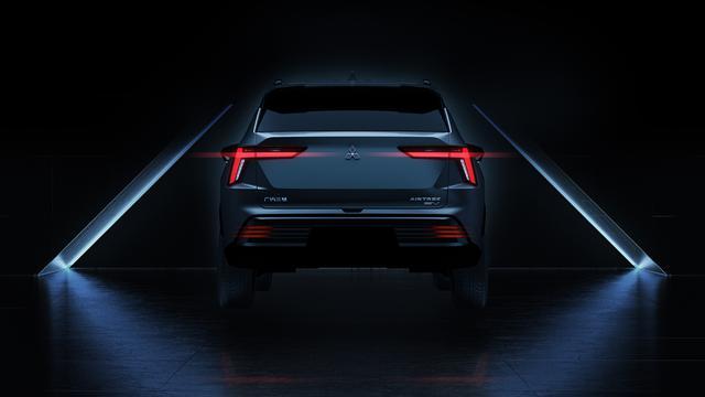 画像: 三菱が上海モーターショーで公開した、新型エアトレックのデザインその2。