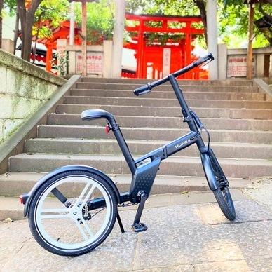 Images : 2番目の画像 - 電動アシスト自転車「ホンバイク」 - Webモーターマガジン