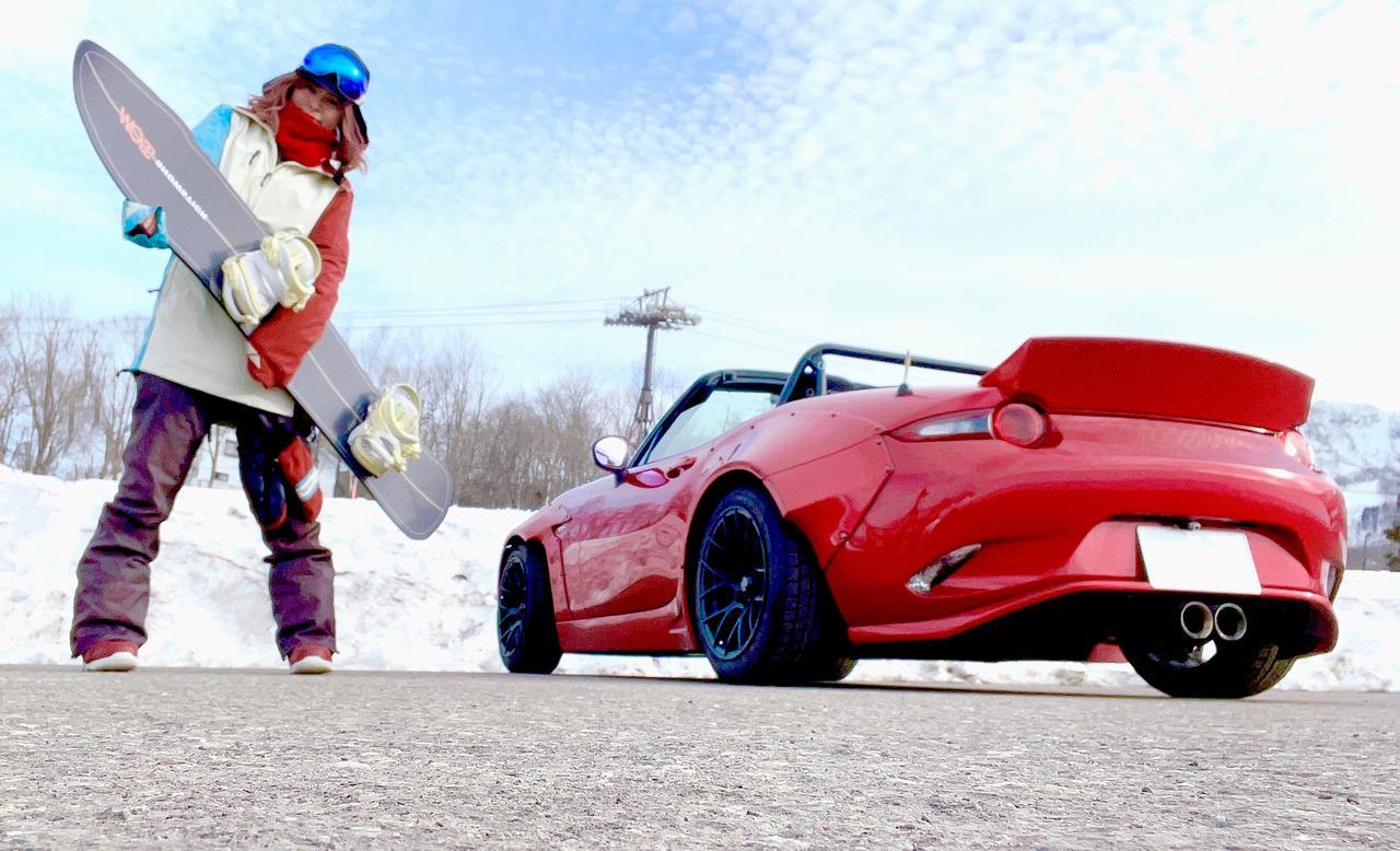 画像: 冬は雪景色の長野県、雪でもYouTubeの撮影をするので、冬はスタッドレスに履き替えています!