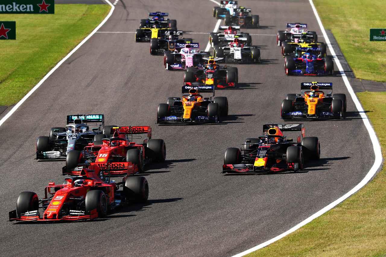 Images : 2番目の画像 - ホンダがF1 第17戦日本グランプリのタイトルスポンサーに - Webモーターマガジン