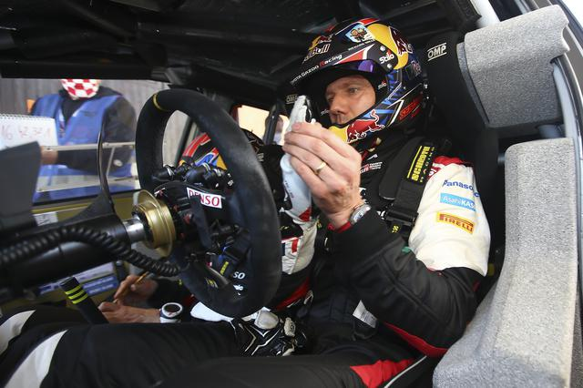 画像: パワーステージの最終SS20でベストタイムをマーク逆転で優勝を飾ったセバスチャン・オジェ(トヨタ ヤリス WRC)。