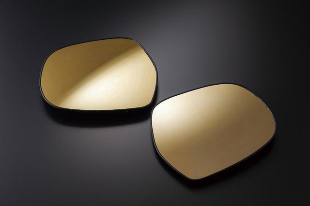 画像: 「LEDシーケンシャル ウインカーミラー」に加わった新色のイエローレンズ。価格は、2万1780円(税込)