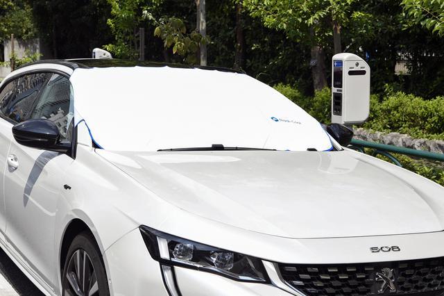 画像: 放射冷却をさせることにより車内の温度上昇を軽減する仕組みだ。