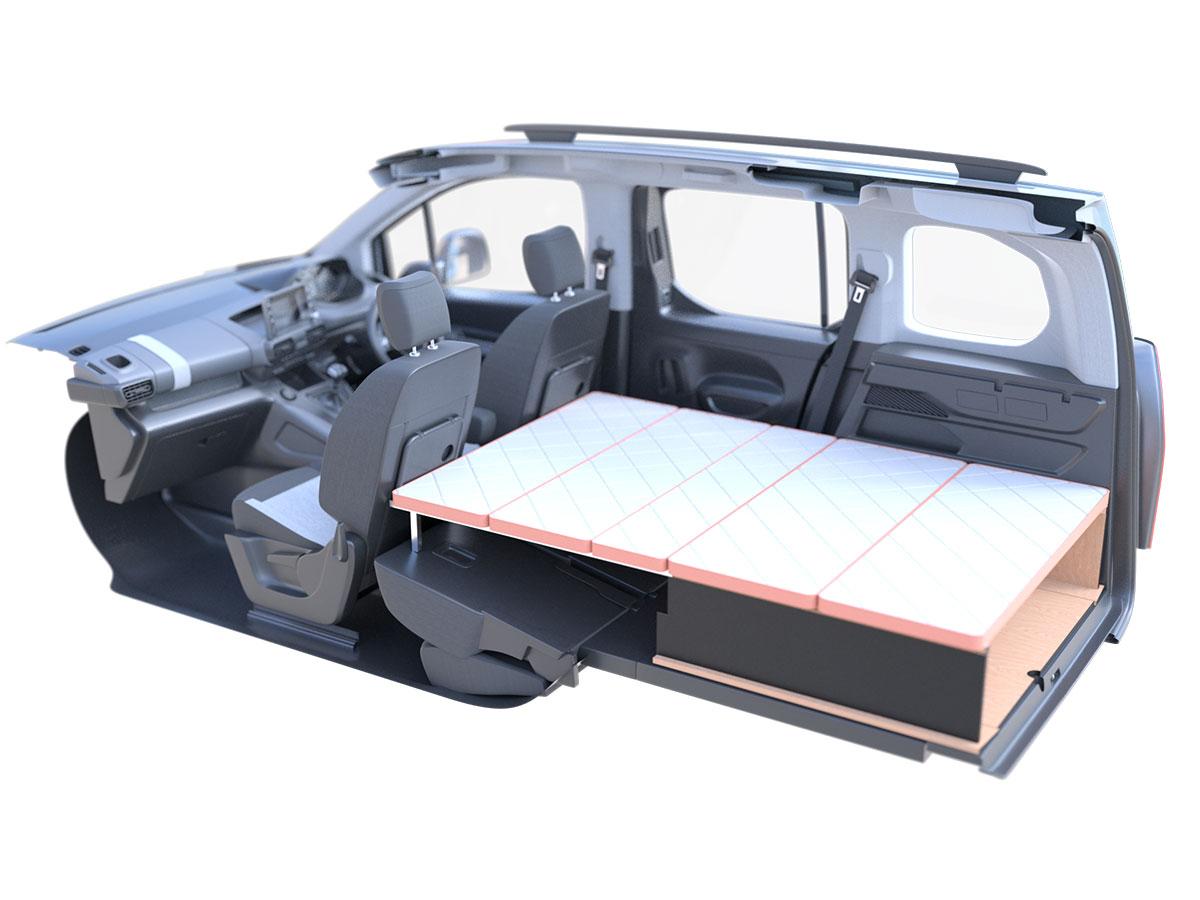 画像: アグレ ベッドキットはいたってシンプルな構造なので、車体への加工は一切いらない。