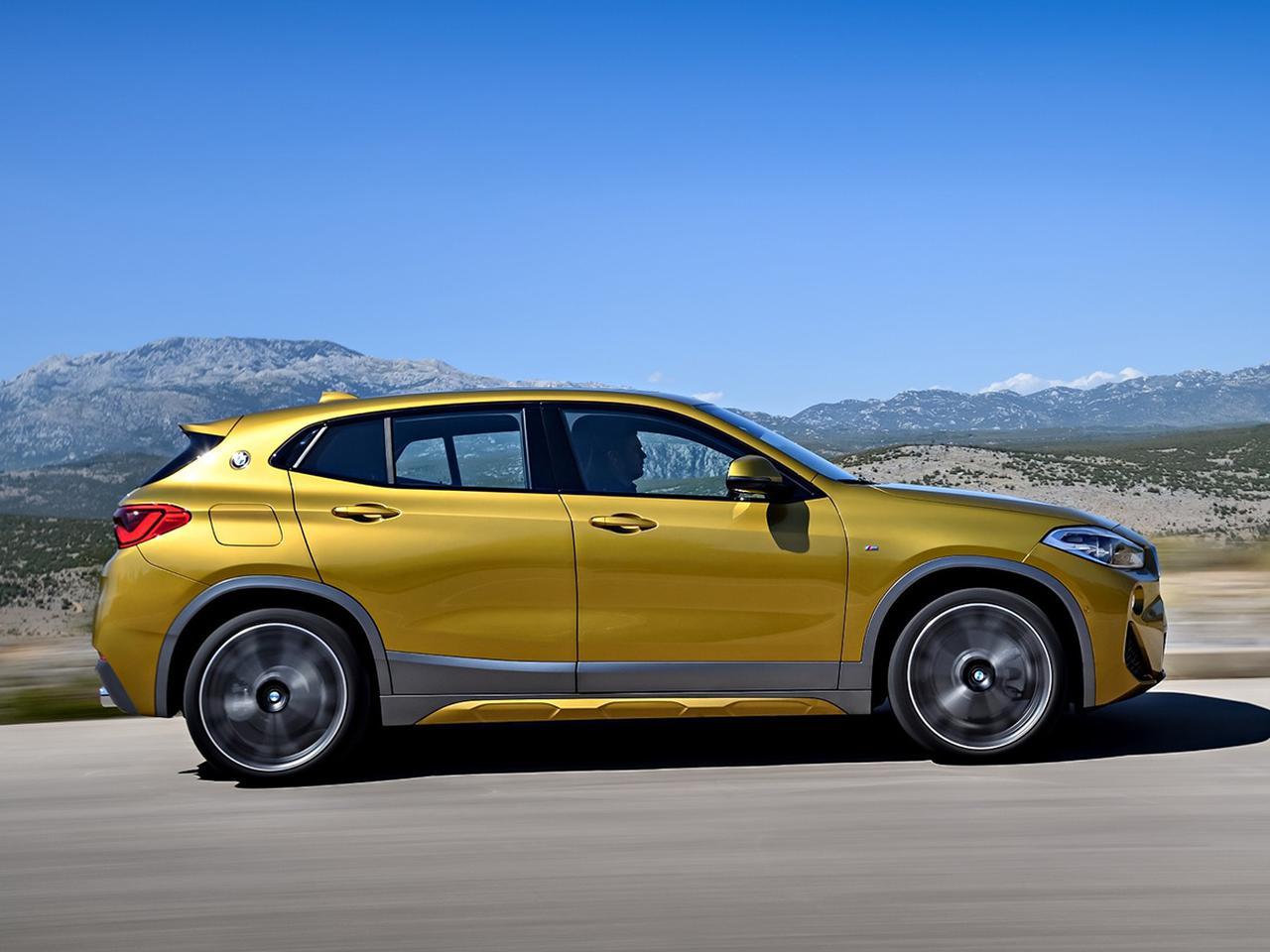 画像: BMW X2 xDrive20dとM35iの標準装備のグレードアップが図られた。