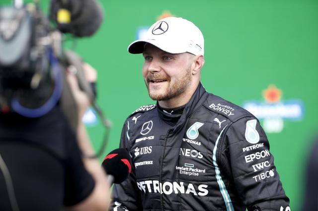 画像: F1第3戦ポルトガルGPの予選でポールポジションを獲得したメルセデスのバルテリ・ボッタス。