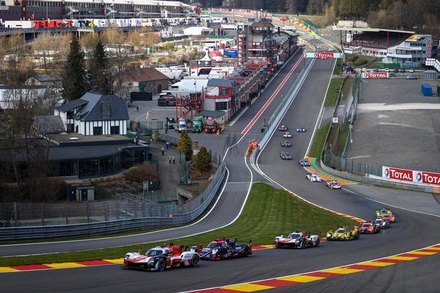 画像: 開幕戦が行われたスパ・フランコルシャン・サーキット。タフなコースでスリリングなレースが展開された。