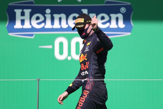 画像: 予選3位、決勝では2位表彰台を獲得したレッドブル・ホンダのマックス・フェルスタッペン。