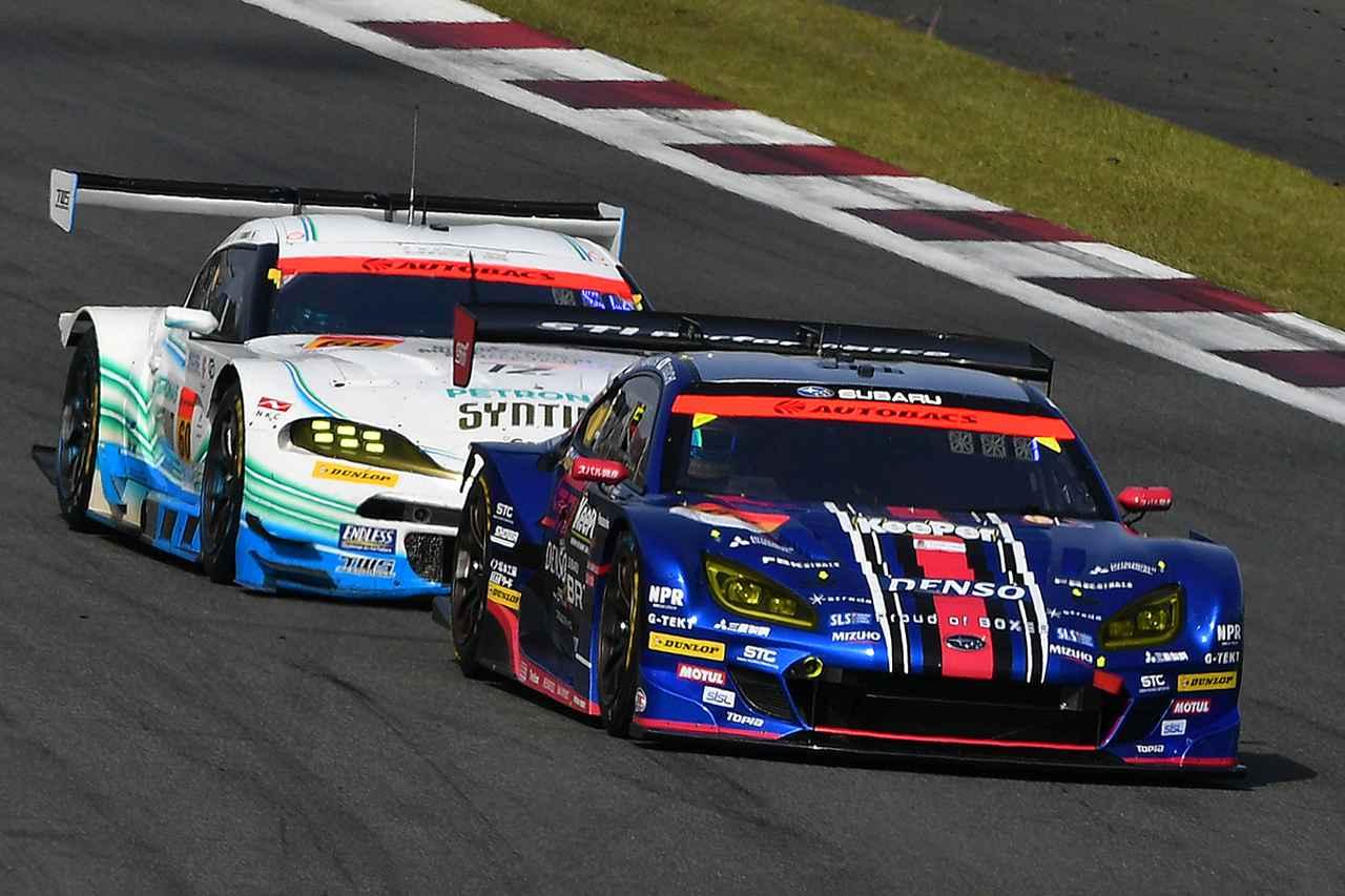 画像: レース序盤は61号車BRZと60号車スープラのドッグファイトを見せた。
