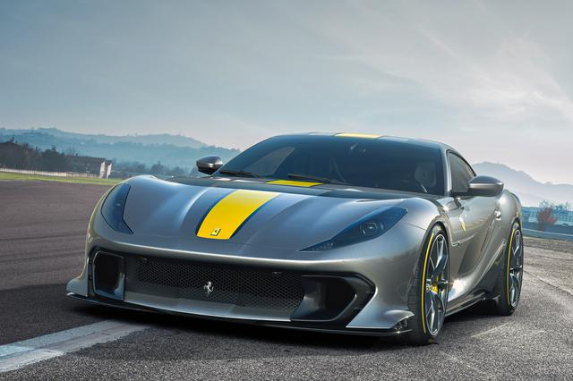 画像: フェラーリの新V12 スペシャルシリーズ「812 コンペティツィオーネ」。