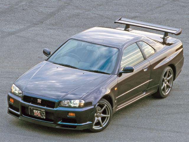 画像: 第3位:日産 スカイラインGT-R(BNR34型:1999年1月発売)
