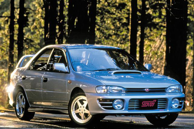 画像: 第10位:スバル インプレッサWRX STi(GC8型:1994年1月発売)