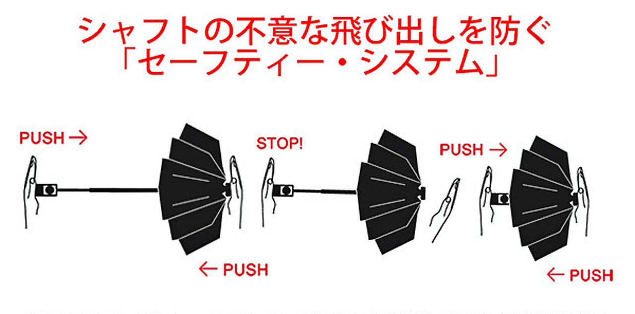 Images : 3番目の画像 - 「クニルプス」自動開閉式折りたたみ傘 - Webモーターマガジン