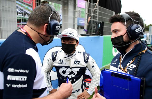 画像: 決勝レースはわずか6周でマシンがストップしてリタイアとなった角田。原因は燃料圧力の低下だった。