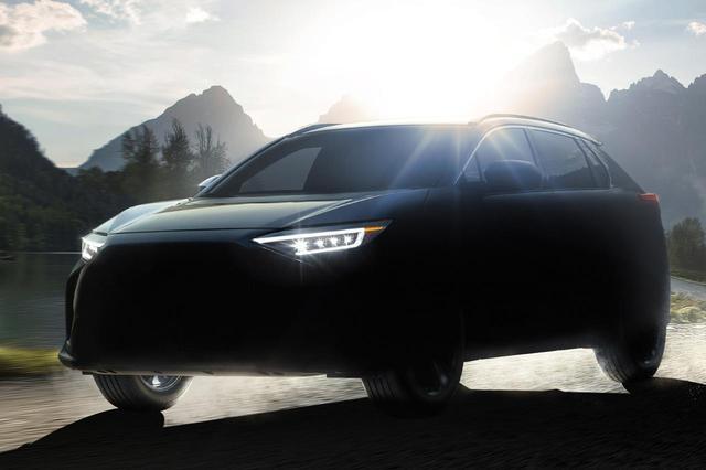 画像: スバルの新型EV「ソルテラ」。トヨタとの共同開発により、「トヨタ bZ4X」と兄弟モデルと言える。