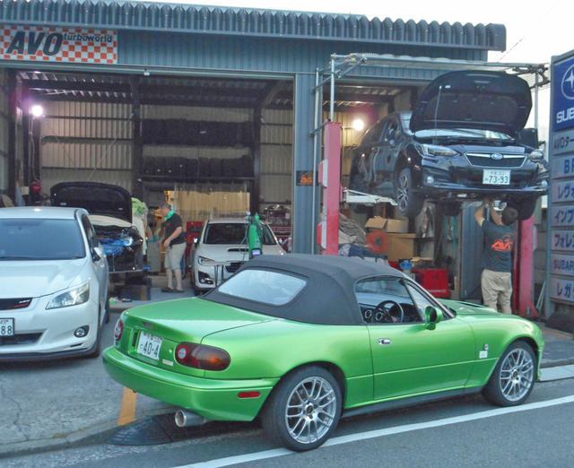 画像: レストア作業は、ロードスターのプロショップ「AVO TURBOWORLD JAPAN」にお願いした。