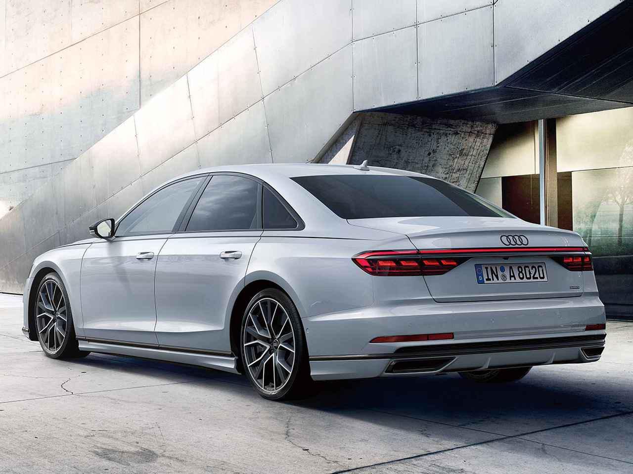 画像: 通常のアダプティブエアサスペンションより車高が10mm低いアダプティブエアサスペンションスポーツを採用。