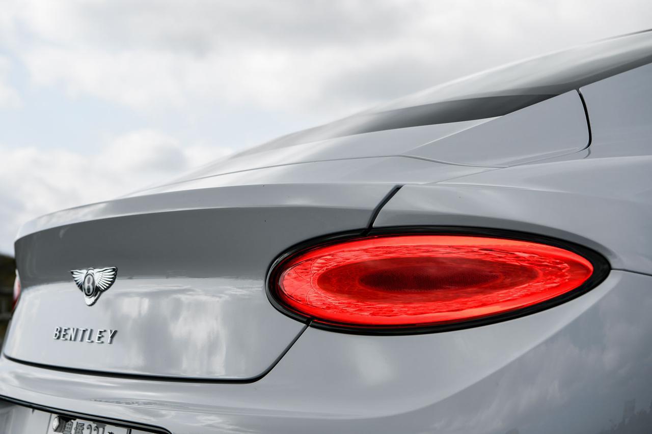 画像: ヘッドライトと同様に、楕円形のテールランプにもクリスタルカット技術のような加工が施されている。