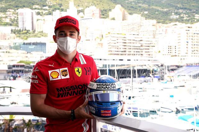 画像: フェラーリのシャルル・ルクレール。このところ、フェラーリは優勝争いに加われていなかったが、ようやく調子が上がってきた。