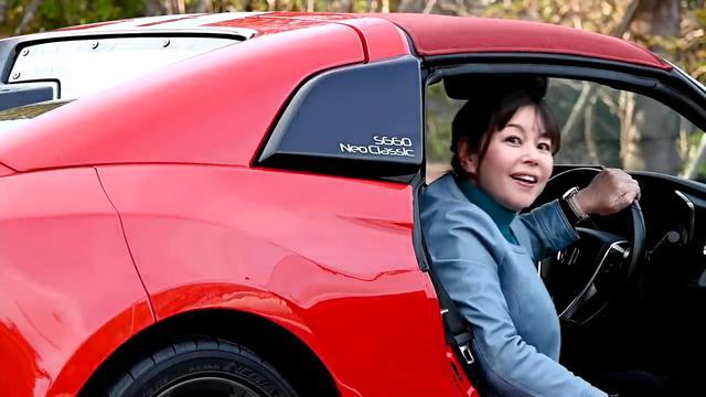 画像: 【動画】竹岡 圭のクルマdeムービー「ホンダS660 Neo Classic」(2021年3月放映)