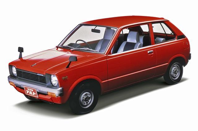 画像: スズキ フロンテの商用バン姉妹車として1979年5月に登場した、初代アルト。