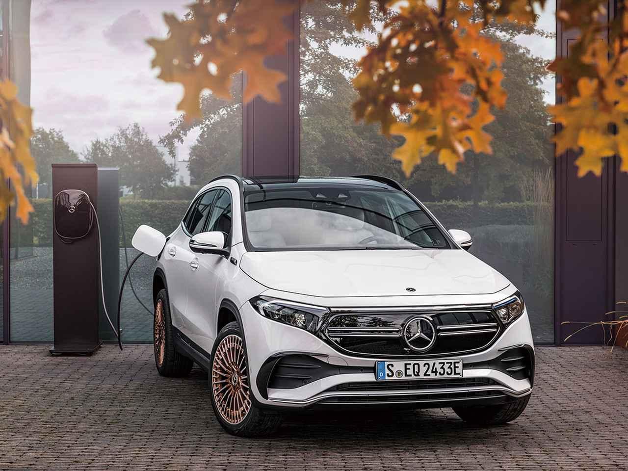 画像: 乗用車の未来は間違いなくBEVと公言するメルセデス・ベンツ。写真はメルセデス・ベンツ EQA。