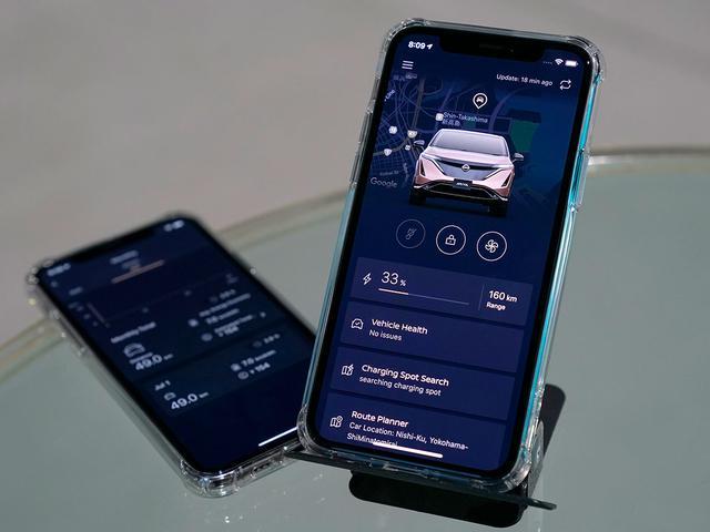 画像: ほとんどのBEVは電池残量や航続可能距離を、車内だけでなくアプリを使ってスマートフォン等で確認することができる。