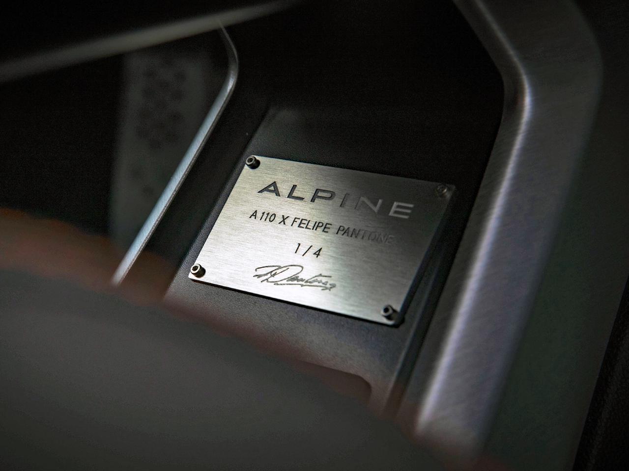 Images : 7番目の画像 - アルピーヌA110×フェリペ・パントネ - Webモーターマガジン