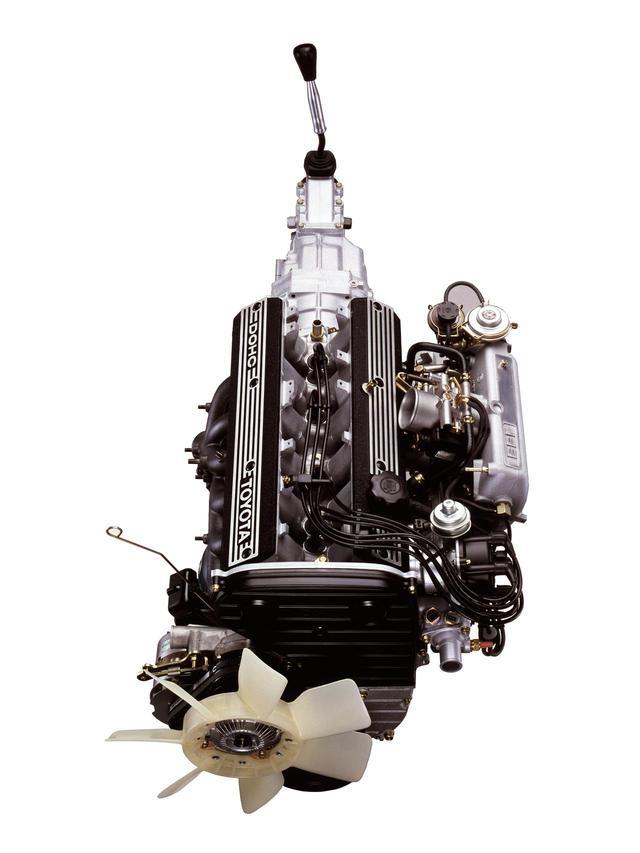 画像: 3Lという当時としては大排気量にDOHCヘッドを搭載。絶対パワーは現代のレベルからみれば低いが、当時のインパクトは大きかった。