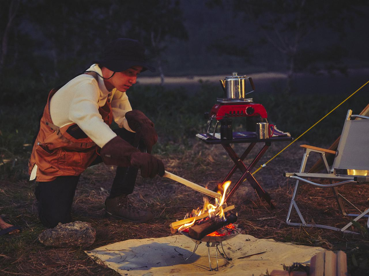 Images : 1番目の画像 - コールマン ソロキャンプ用品 - Webモーターマガジン