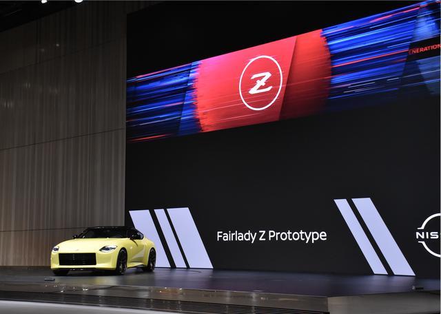 画像: 写真は2021年1月に横浜の日産グローバル本社で撮影したフェアレディZプロトタイプ。