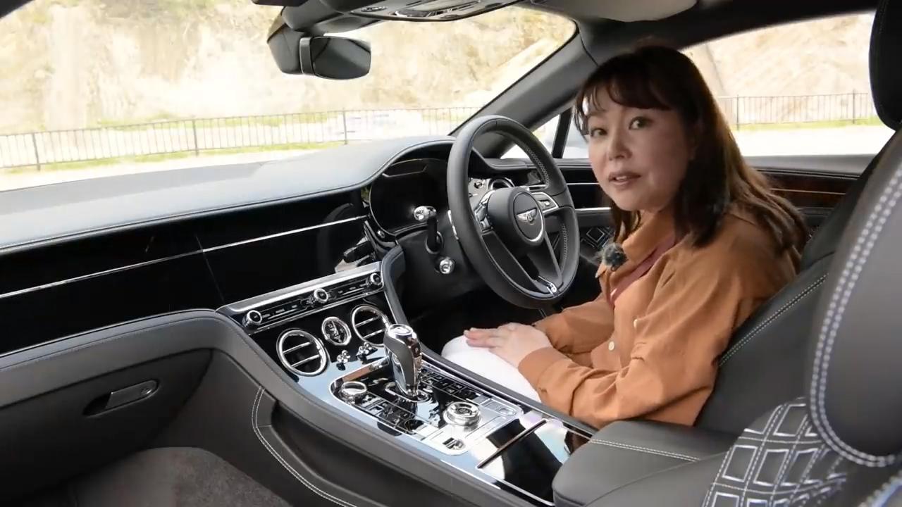 画像: 【動画】竹岡 圭のクルマdeムービー「ベントレー コンチネンタルGT V8」(2021年5月放映)