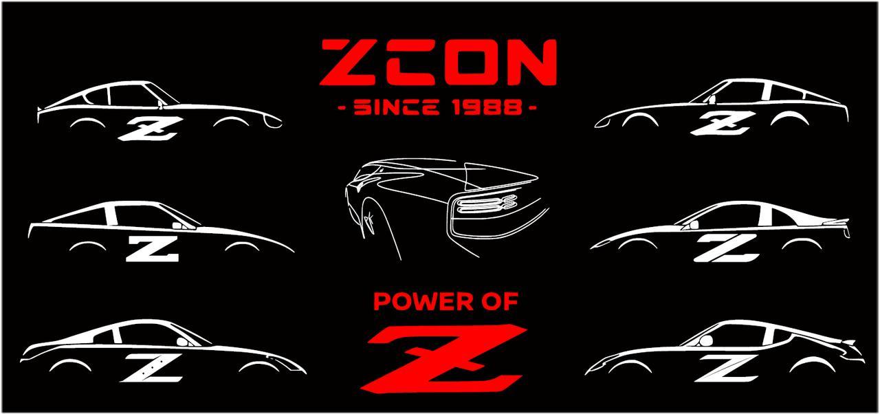 画像: ZカークラブアソシエーションのZCCAによる今年のZCONコロラドのポスター。これ以外にも様々なサプライズアートワークが披露される。