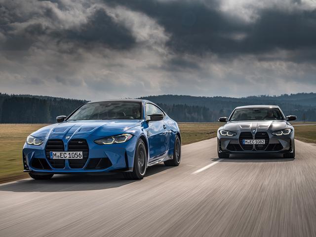 画像: M3/M4シリーズとしては初の4WDシステム「M xDrive」を採用。