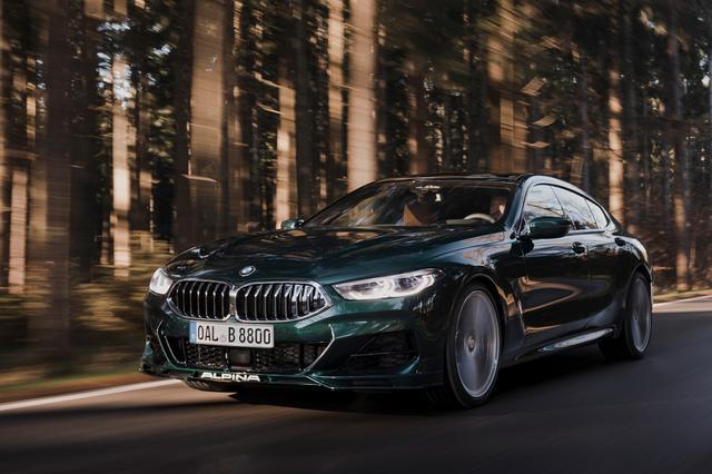画像: B8 グランクーペ。BMW M850i xDriveグランクーペをベースに、アルピナ流のスマートなチューニングを行ったラグジュアリーモデル。