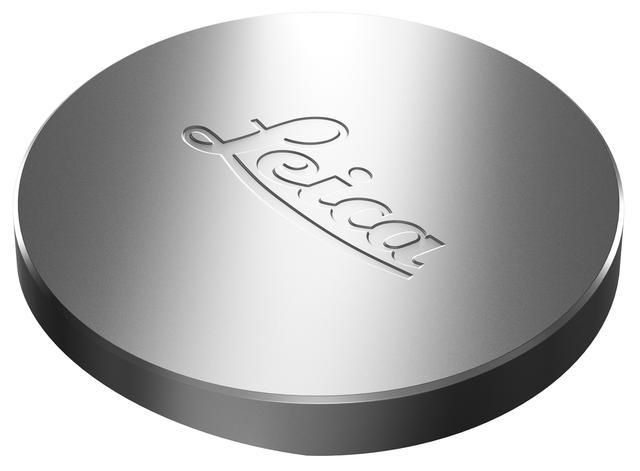 画像: 同梱されるLeitz Phone 1のレンズキャップ。Leicaのロゴが入り、カメラ用レンズを思わせる