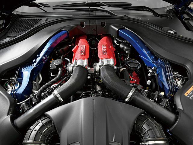 画像: 4年連続インターナショナルエンジンオブザイヤーに選ばれた、ポルトフィーノM搭載の3.9L V8ターボエンジンを搭載。