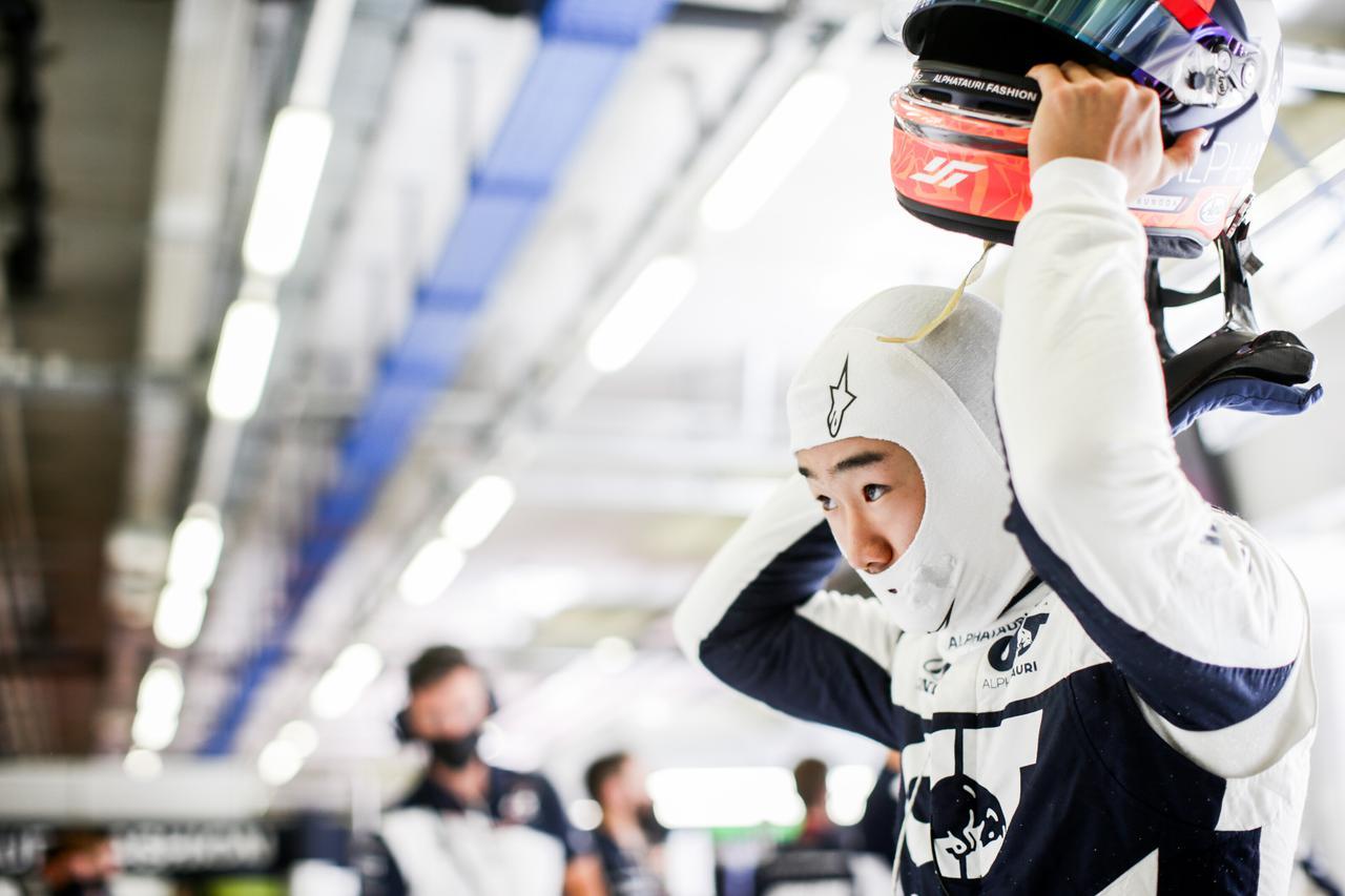 画像: 角田は3グリッド降格ペナルティを受けたが、落ち着いて予選をクリアした。